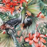Sumi-e Digital Print Panel Sumi-e Bird Multi DD108525 By AS Creation For Galerie